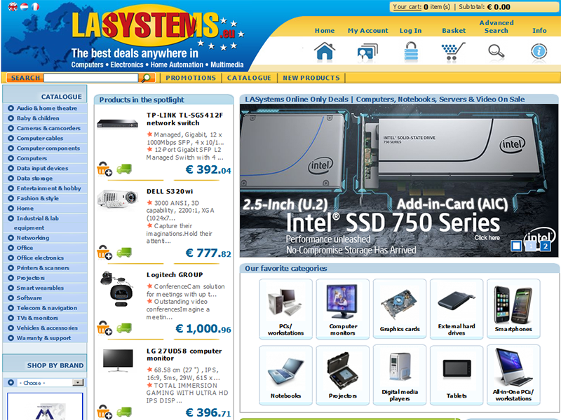 Lasystems - Ecommerce Solution