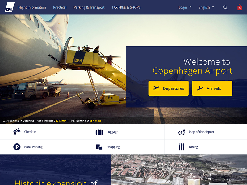 CPH Airport Mobile Application