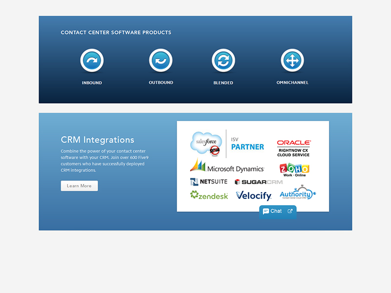 Call Center CRM Application