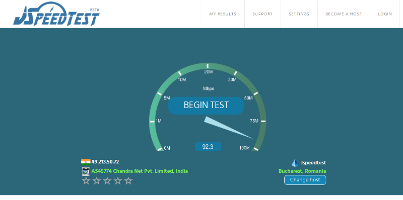 Speed Test